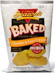 Baked Thin Potato Crisps