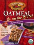 Oatmeal on the run