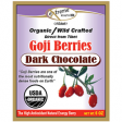 Organic Dark Chocolate Covered Tibetan Goji Berry