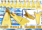 Vertex Training Fins