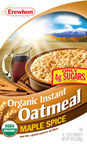 Erewhon Organic Instant Oatmeal � Maple Spice